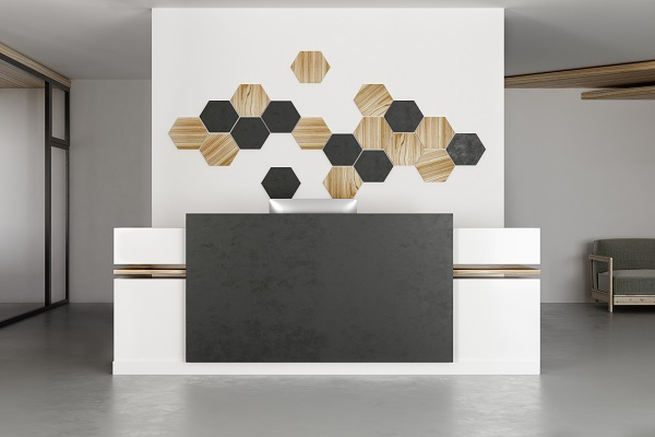 Office Wall Panels for Reception Area