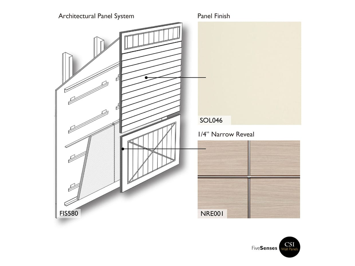 Antique White  - Exterior Panels Residential