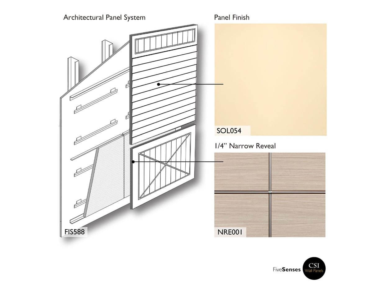 Natural Almond - Exterior Wall Panels Design