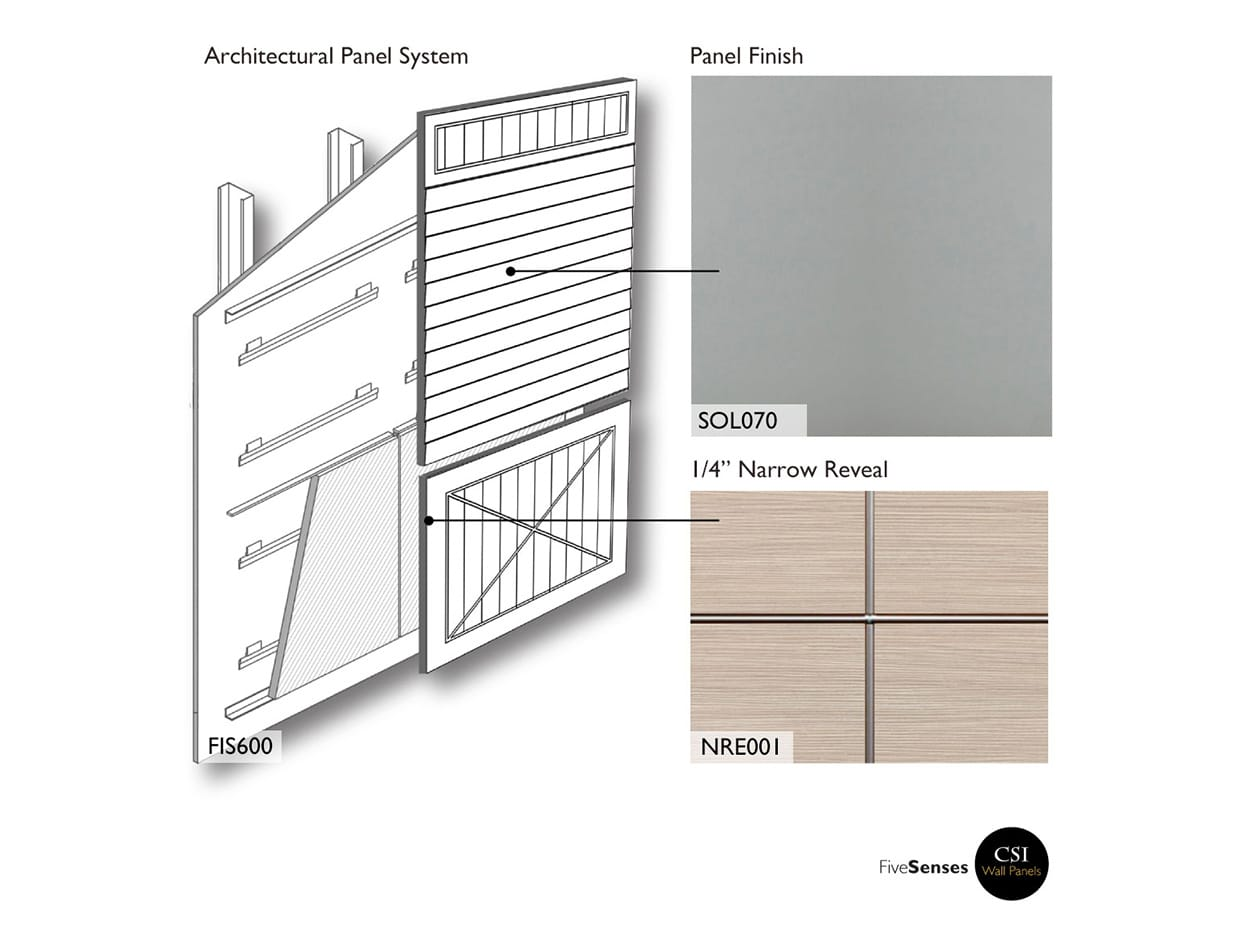 Canadian Gray Panels For Buildings
