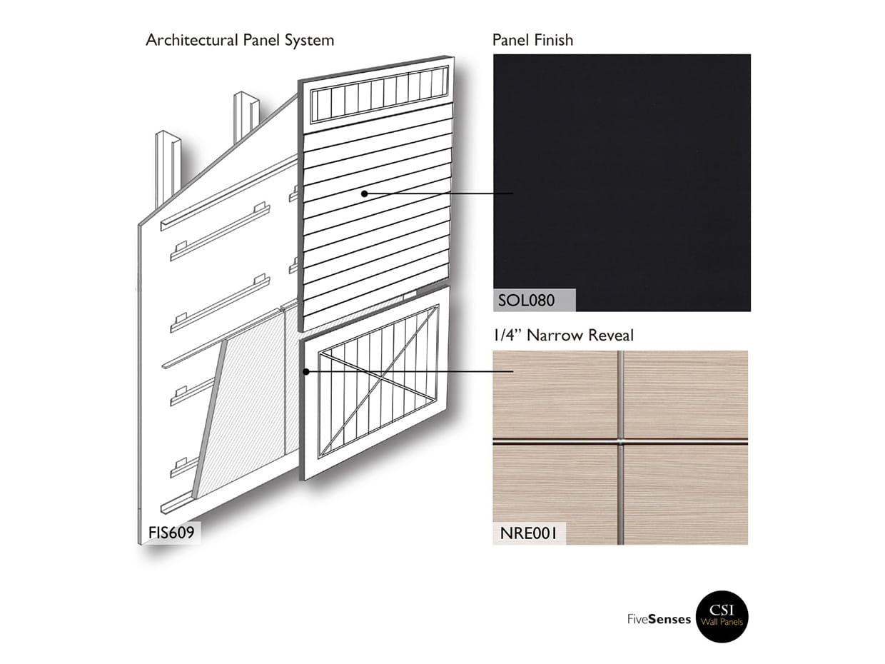 Architectural Wall Panels - Black