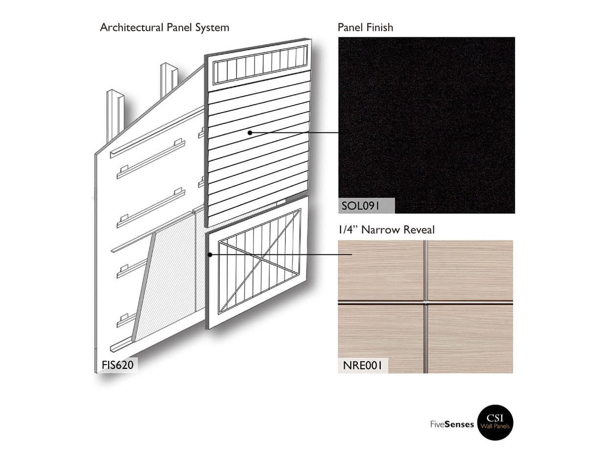 Tafisa L203 - Black  - How To Decorate Wood Paneling Without Painting