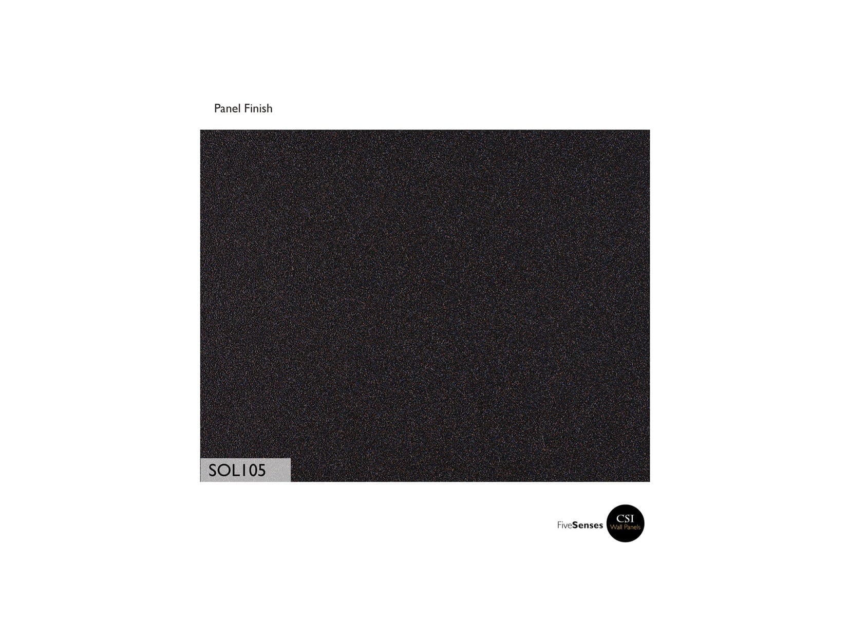 Black Indoor Decorative Wall Panel