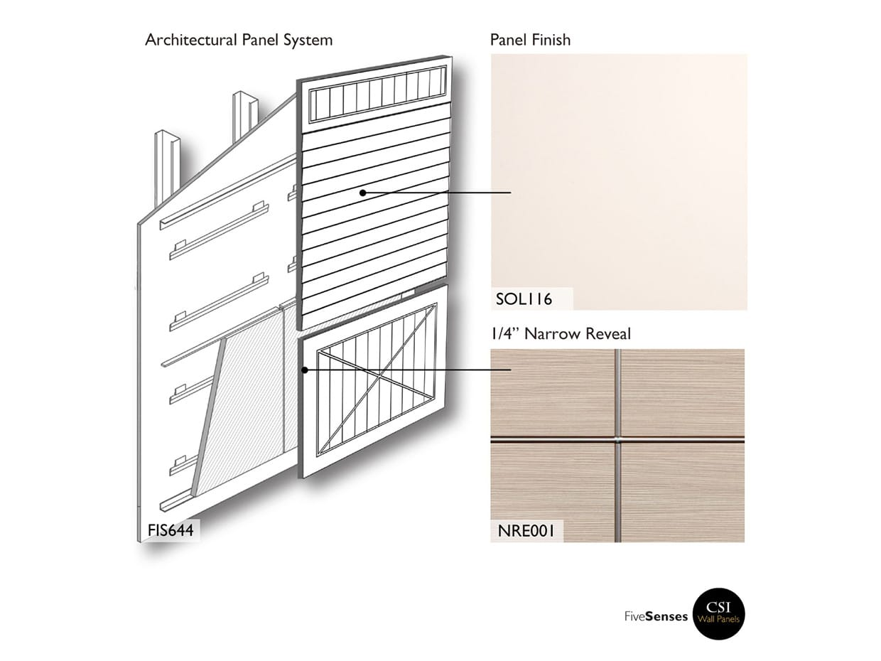 Eggshell White - Interior Wall Panels Products