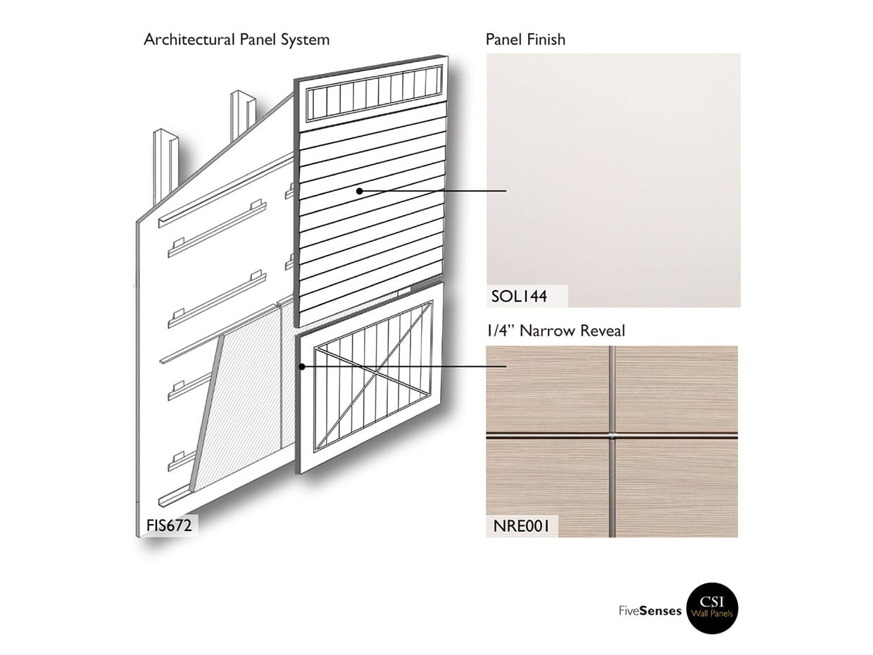 Dover White - Modern Wood Wall Paneling