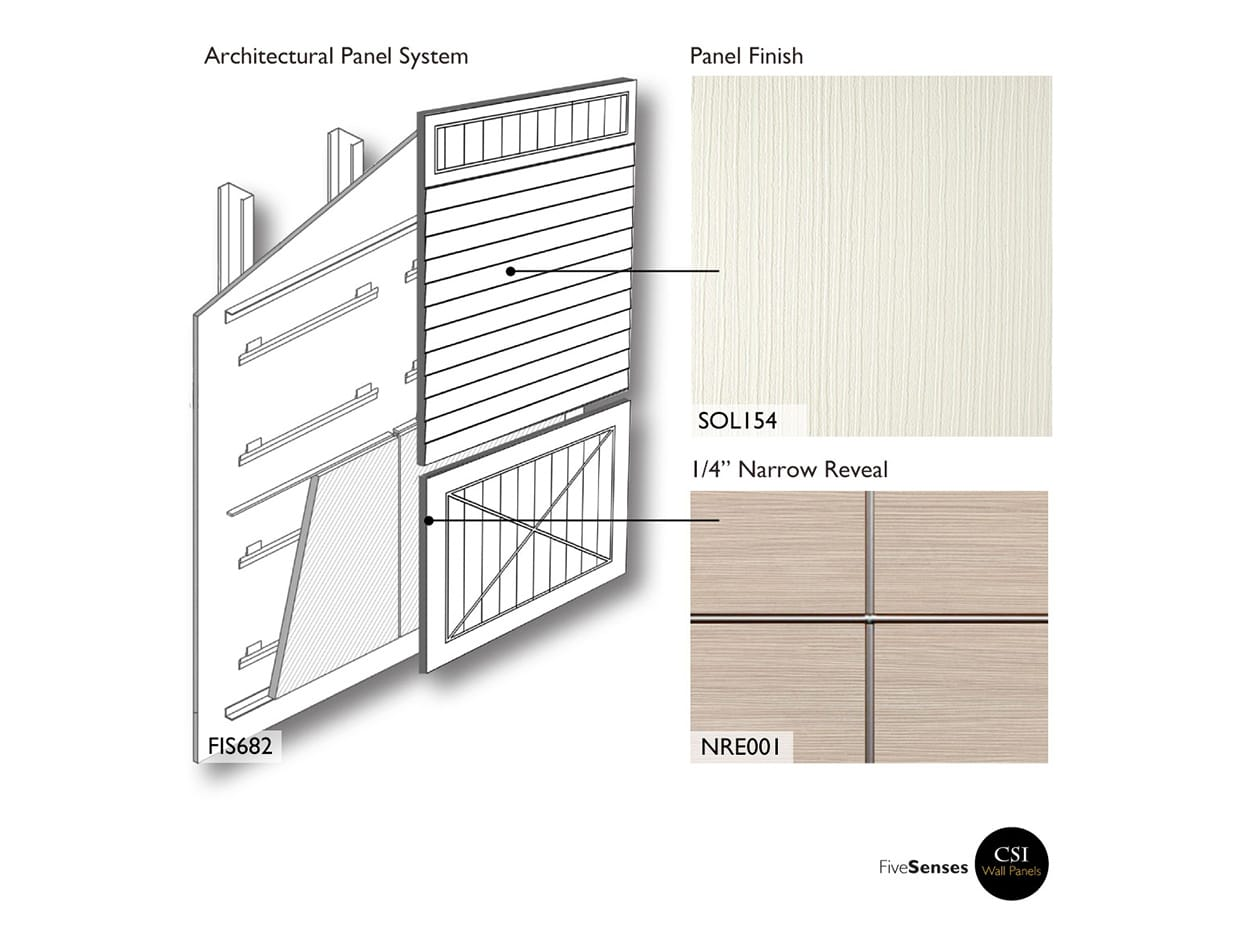 White - Outdoor Wood Wall Panels