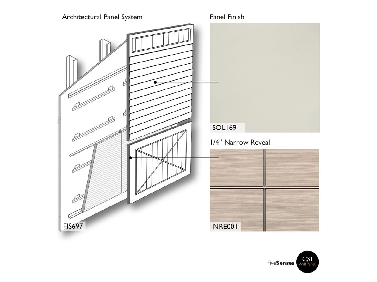Neutral White - Routed Mdf Wall Panels