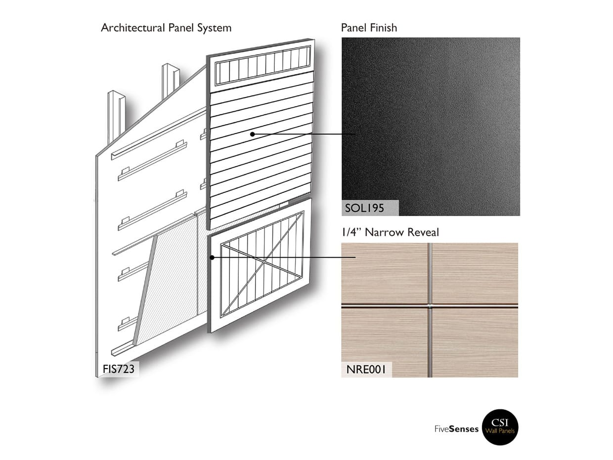 Black Veneer Cladding