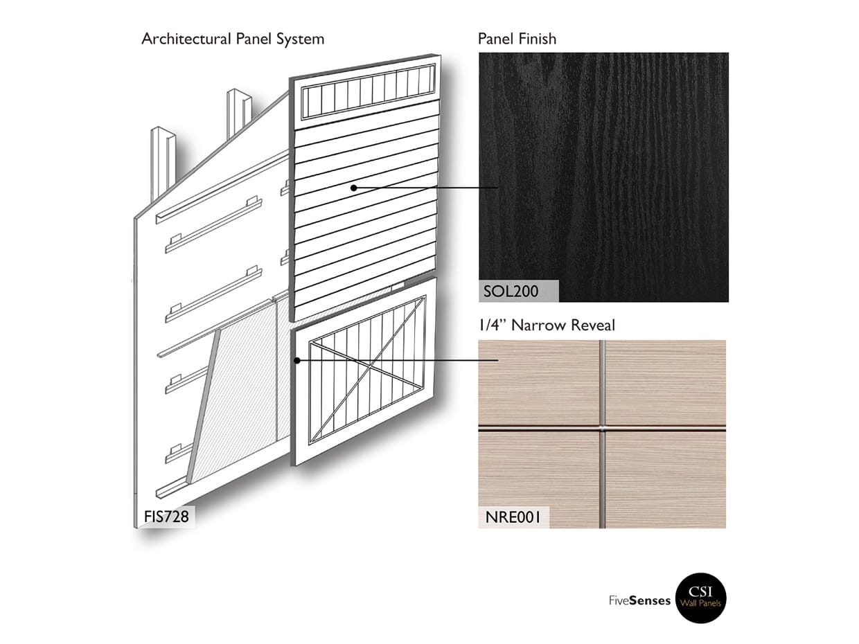 Black Wall Decor Panel Ideas