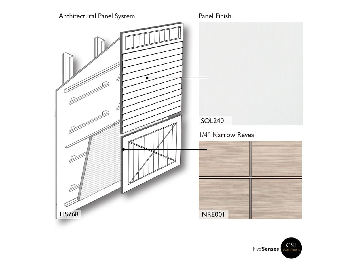 Solid Premium White Wood Cladding Panels