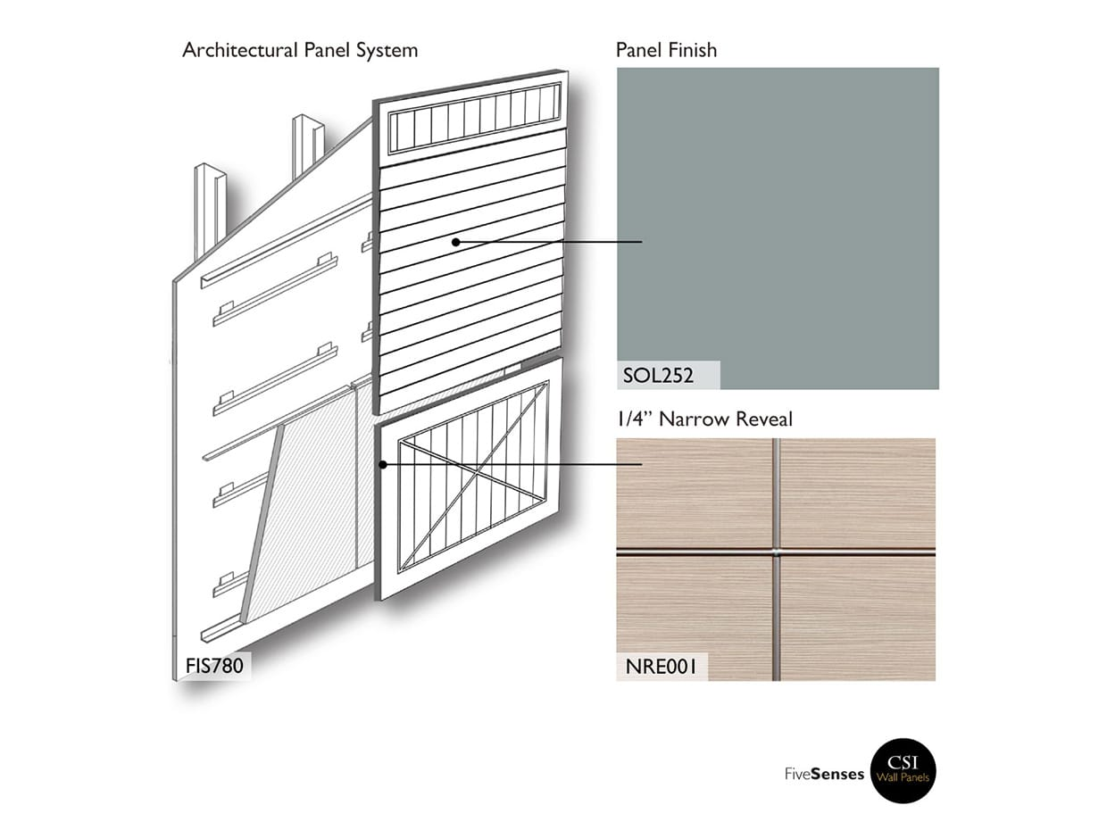 Fjord Green - Wood Interior Wall Paneling System