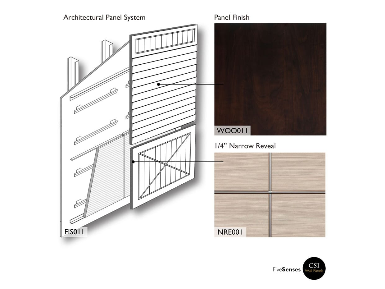 High Pressure Laminate Wall Panels - Chocolate Pear Tree