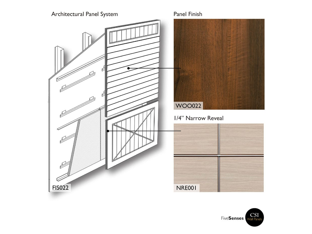 Concerto Wood Accent Wall