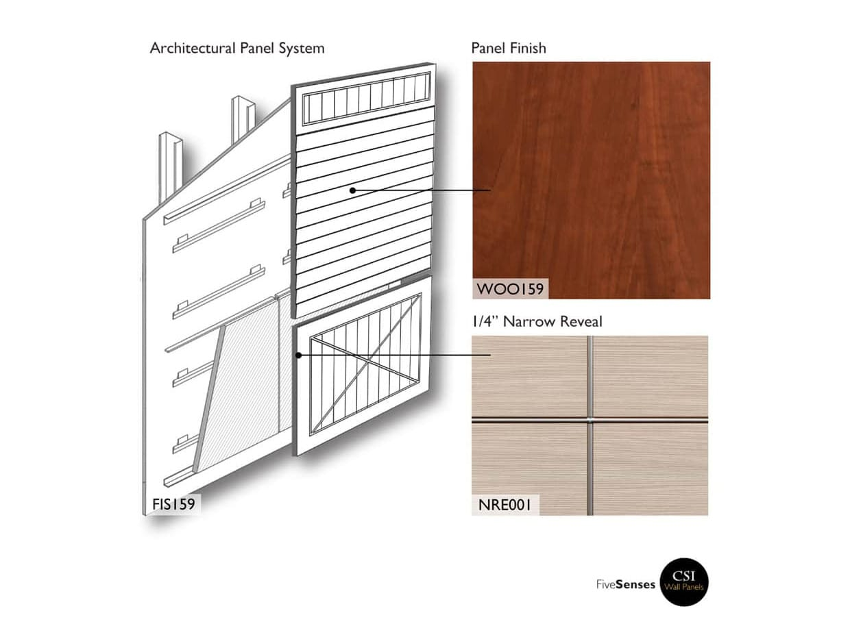 Contemporary Wall Wood Panels