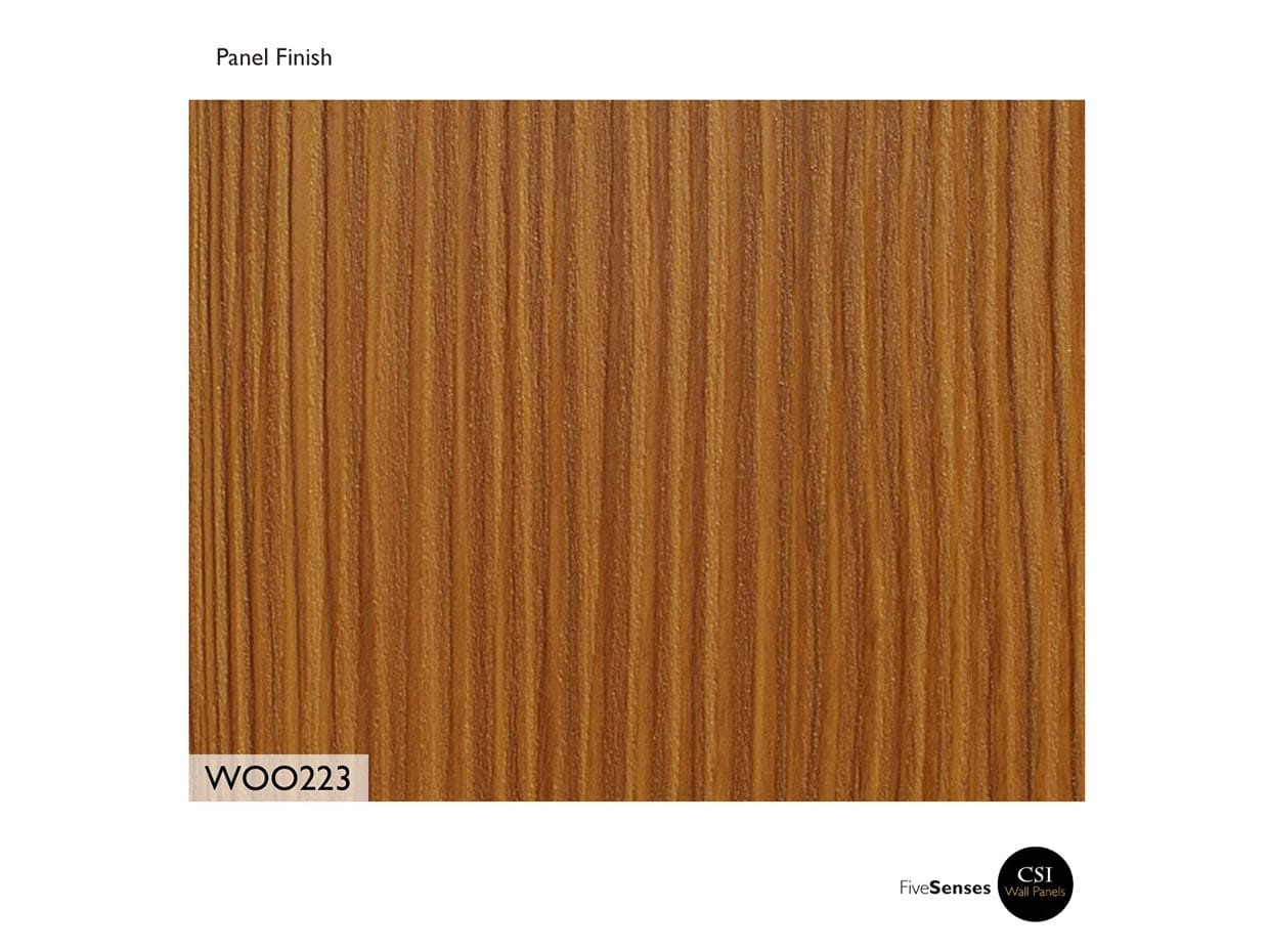 Tenino Rosewood Wall Decor Panels Modern
