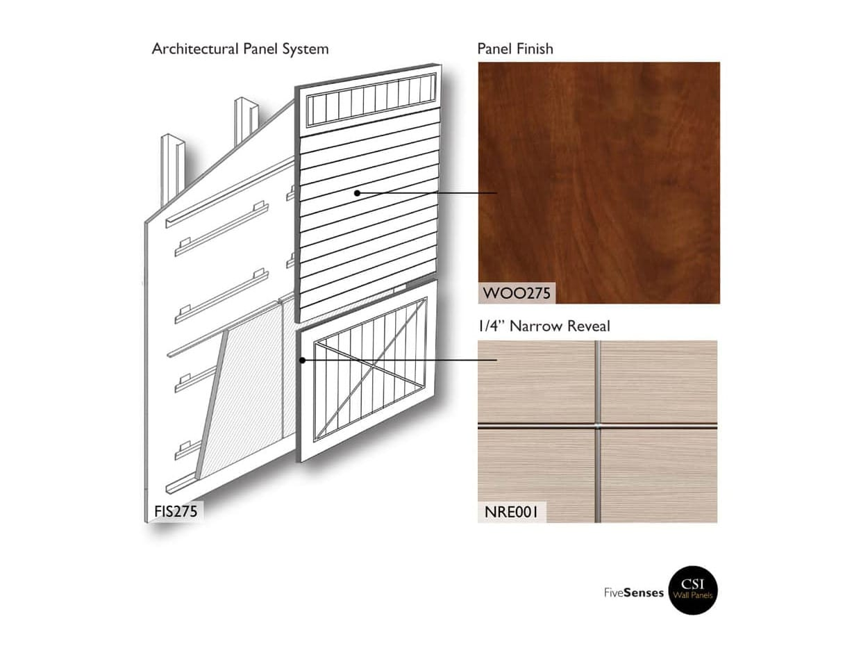 Architectural Wood Wall Panels Interior