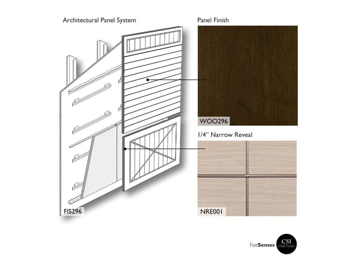 Architectural Wood Interior Wall Panels