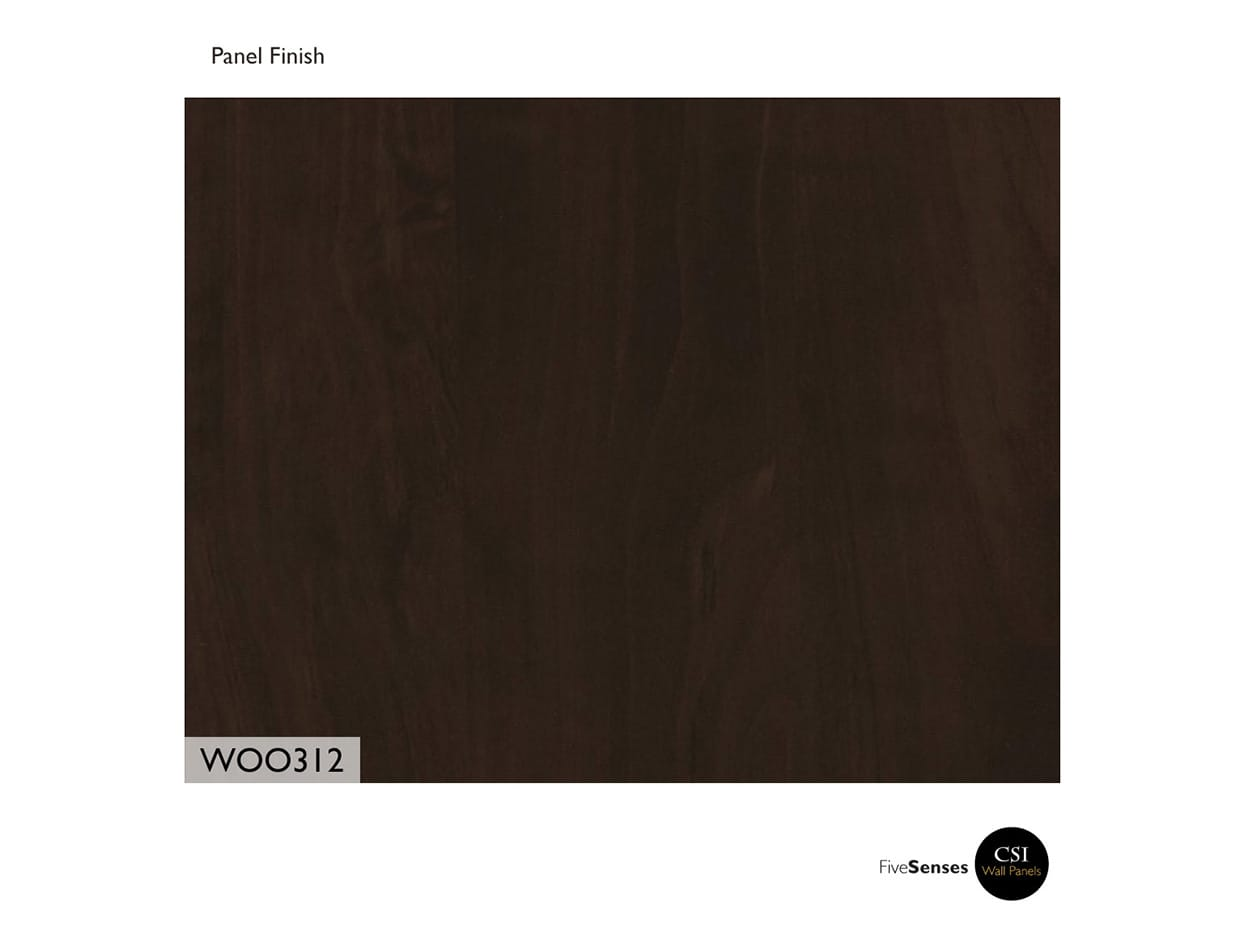 TFL Chocolate Pear Peel And Stick Wood Wall