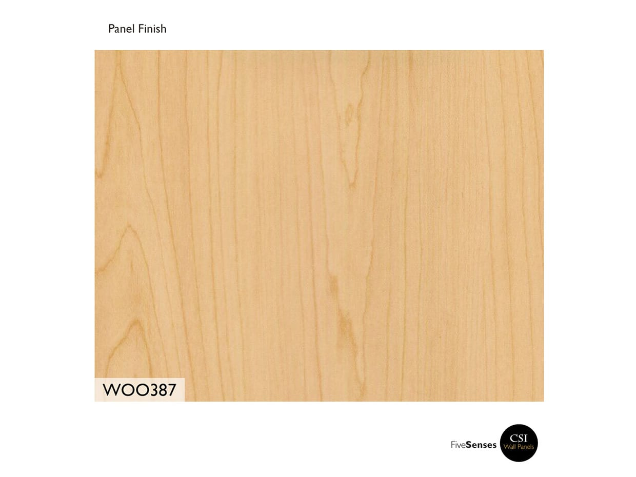Hardrock Maple - Wood Wall Systems