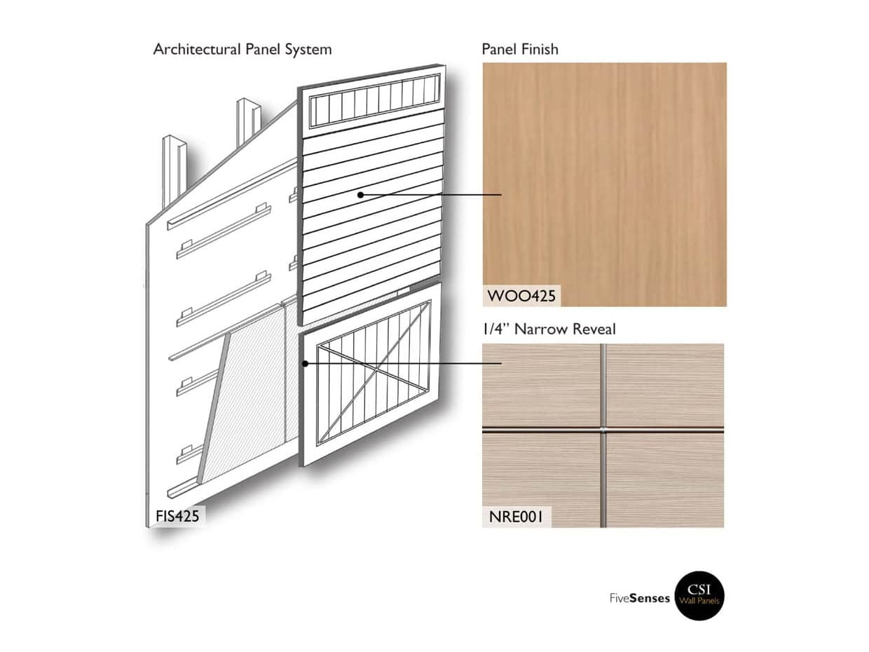 Roble Amberes  - Panelling Designs