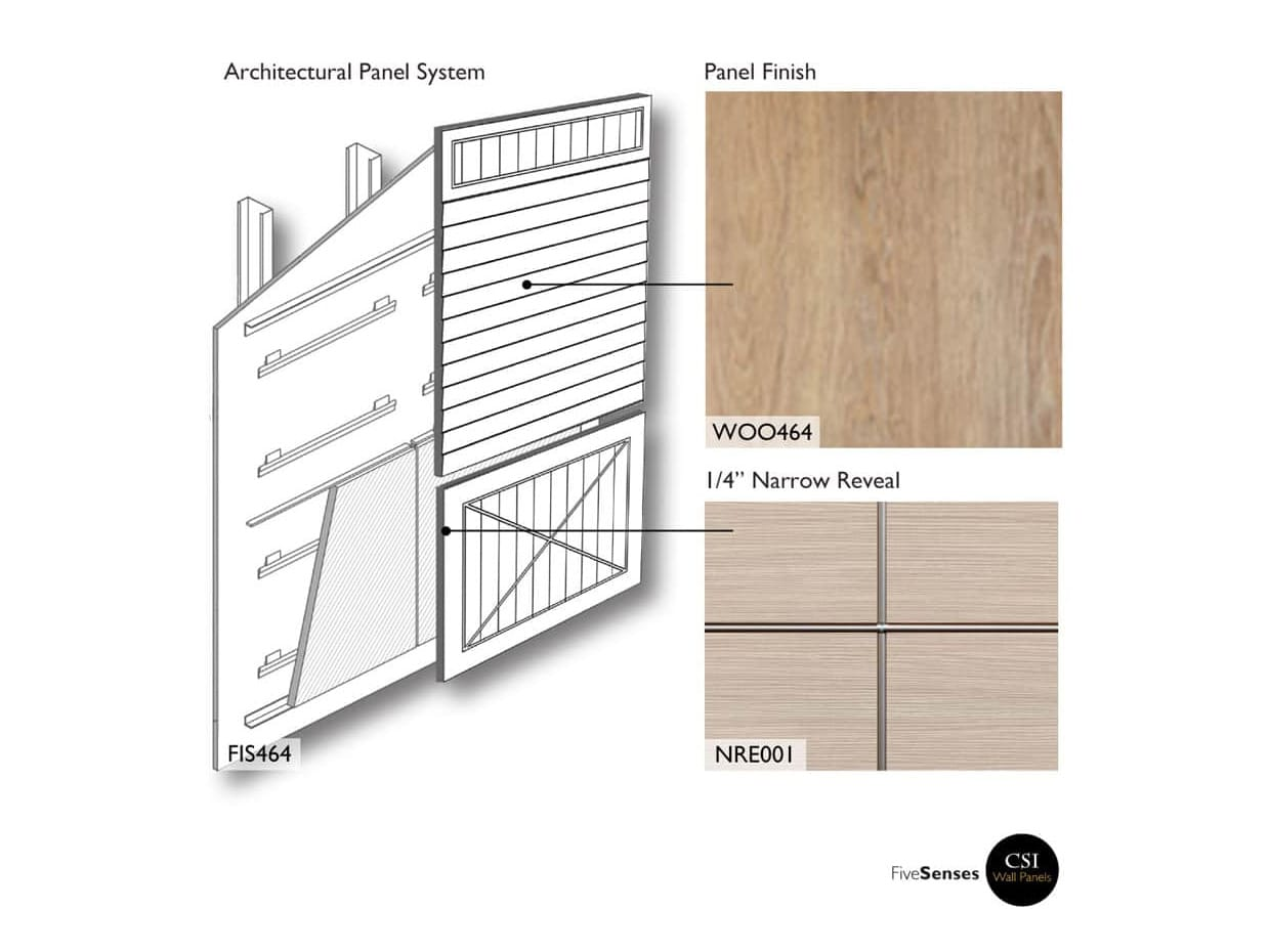 Horizontal Wood Paneling