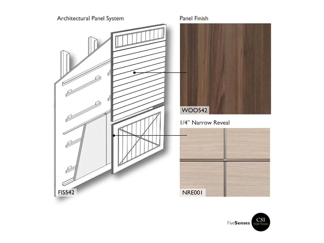 Wood Grain Wall Paneling