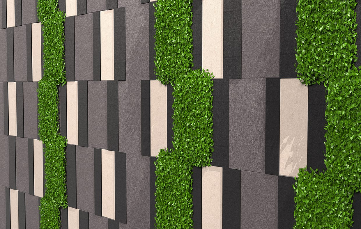 Alexandria Greenery Detail Csiwallpanels