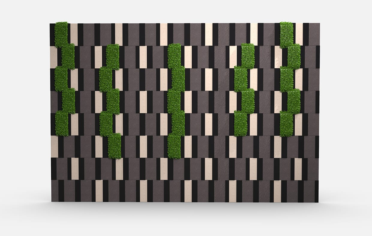 Alexandria Greenery Elevation Csiwallpanels