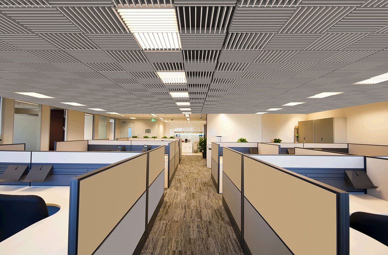 Grid Louver Corporate Workstations