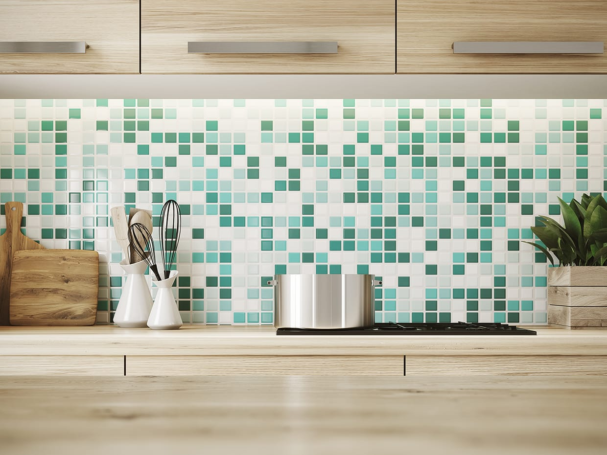 Patterned Kitchen 2