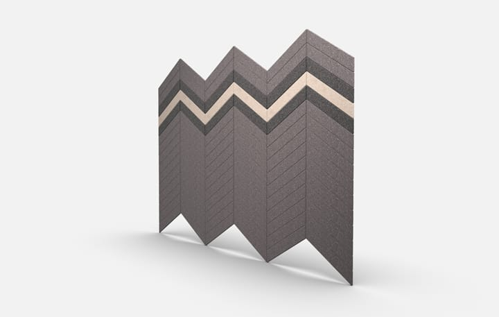 Planar 2706 Chevrons Base Perspective Csiwallpanels