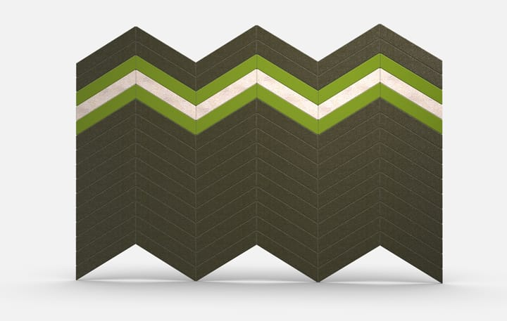 Chevrons Color, Fresh