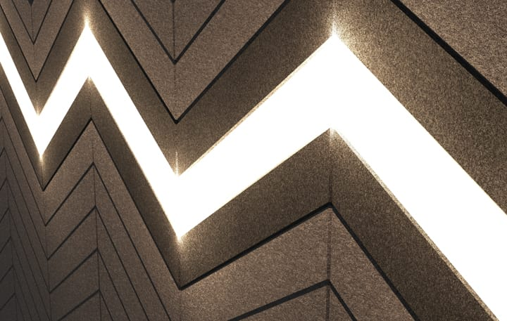 Chevrons Function, Lights Detail