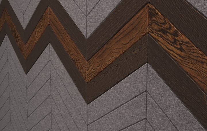 Chevrons Material, Wood Dark Detail