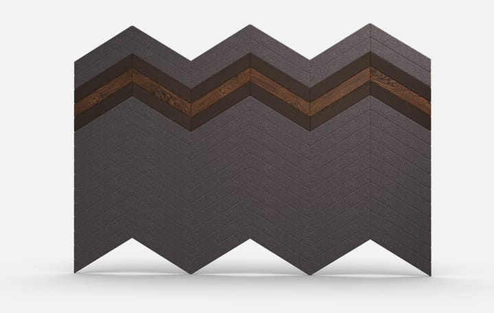 Chevrons Material, Wood Dark