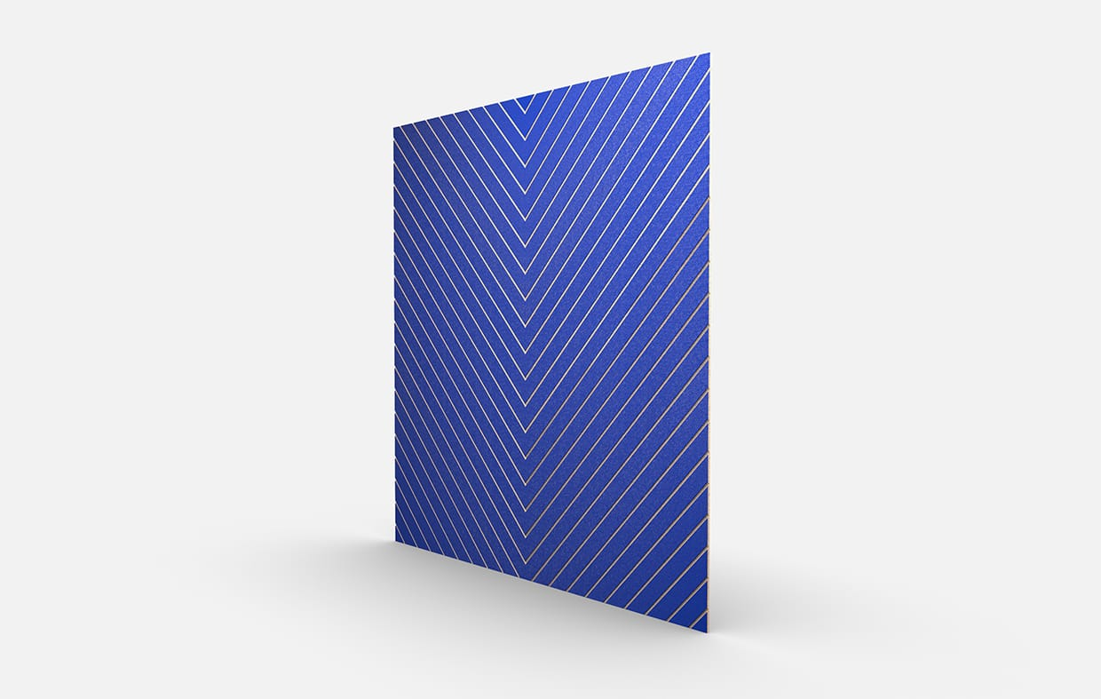 Sandsketch 4306 Chevron Color Blue Perspective Csiwallpanels