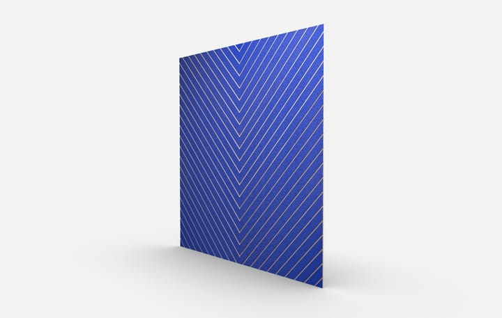 Chevrons Color, Blue