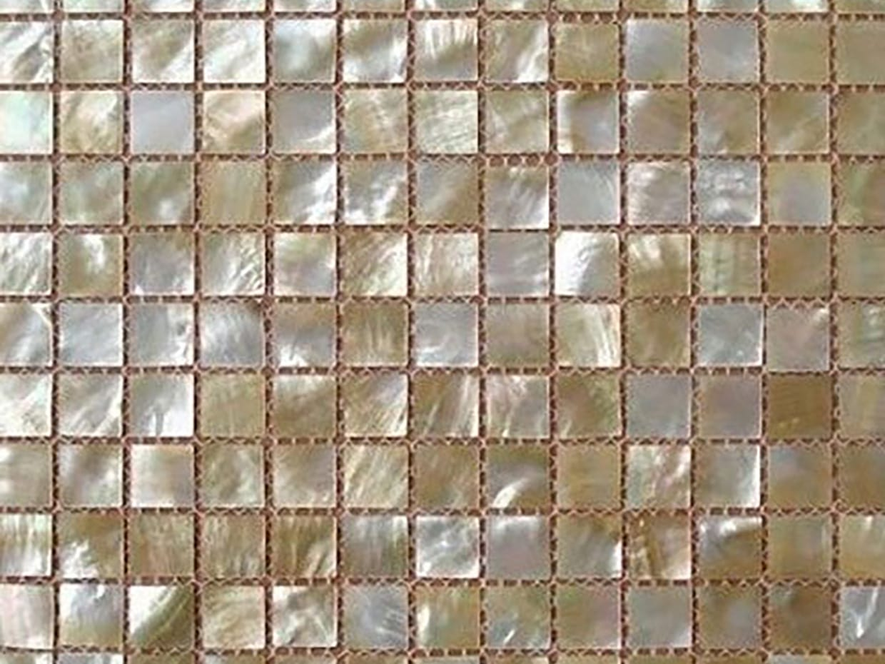 Shell Mosaic Wall Tiles12