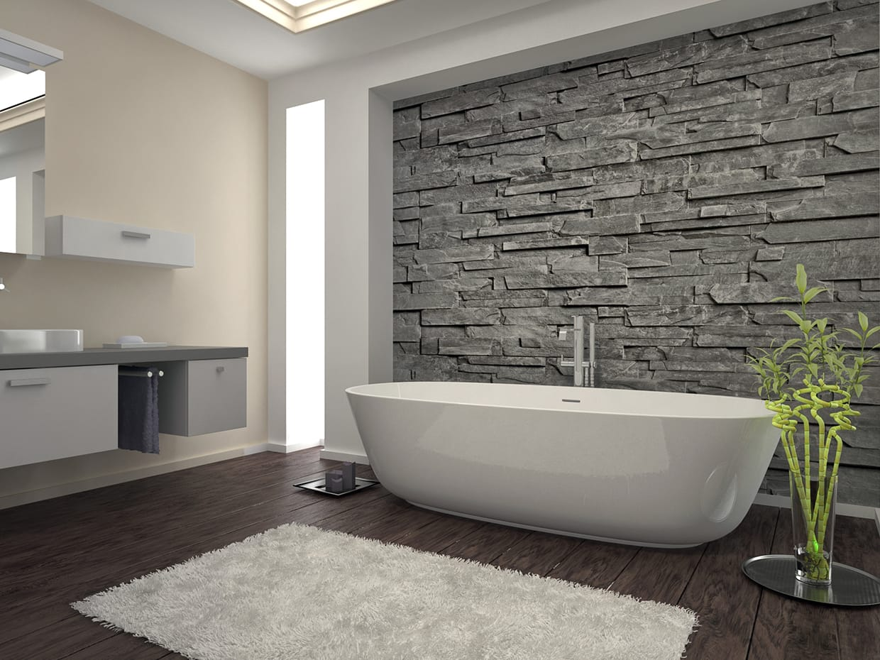 Stone Bathroom Tiles | Stone Tile Bathroom | Natural Stone Bathroom ...