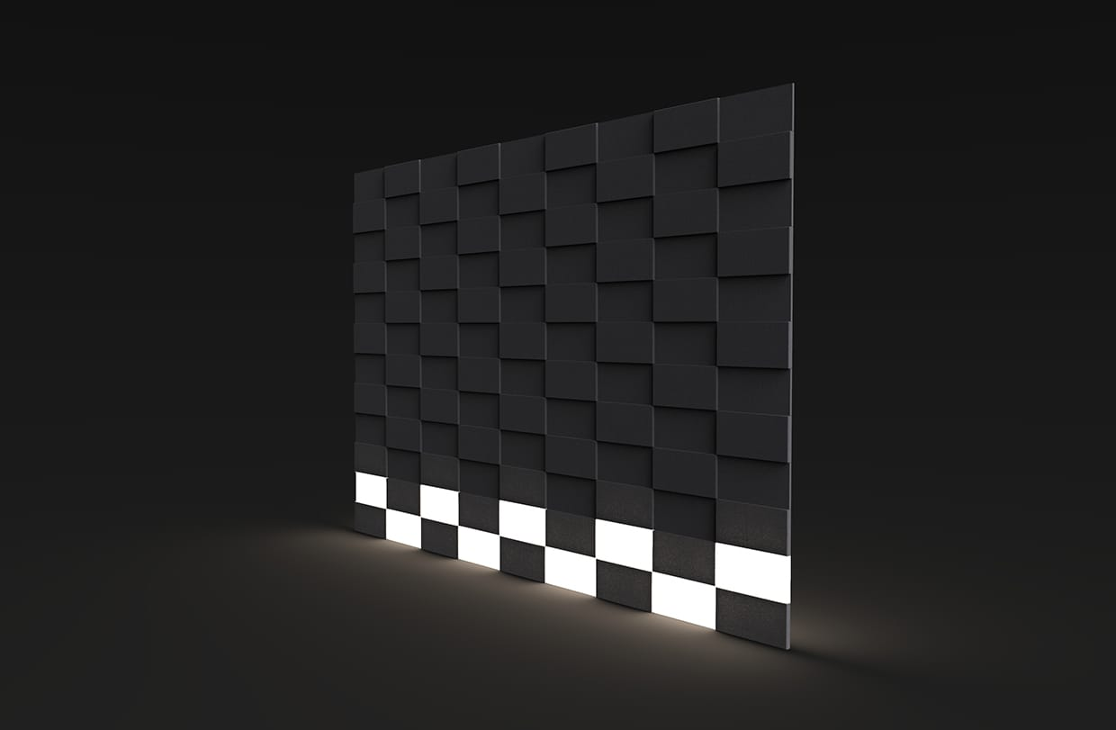 Terrace Function Footlight Perspective Csiwallpanels